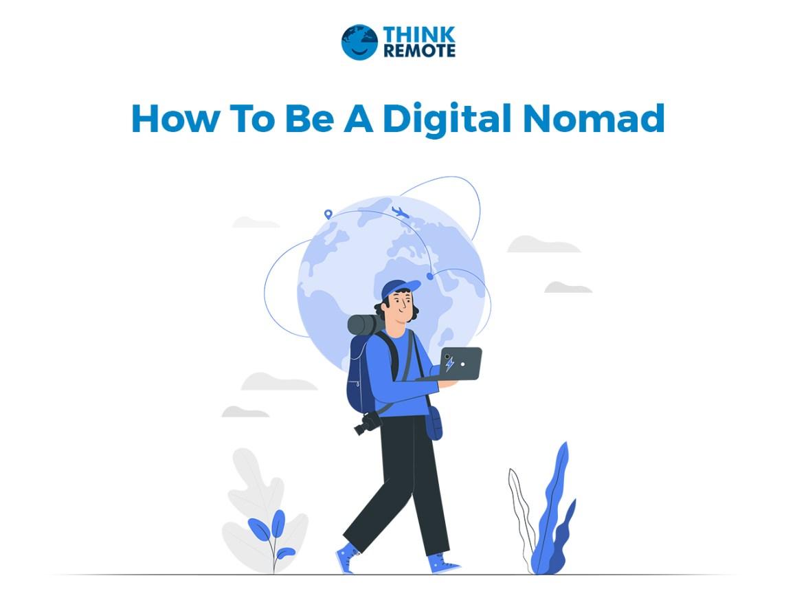 Digital Nomad is walking