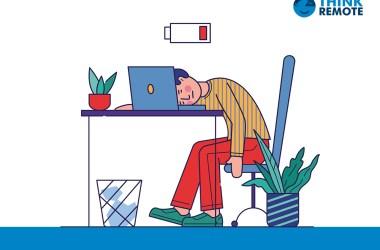 remote work burnout statistics