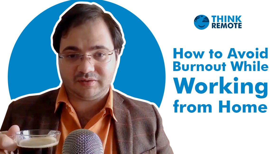 Luis talks about burnout while working from home during his coffee chat