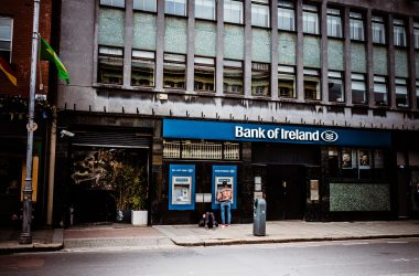 bank of Ireland in Dublin with new hybrid working model