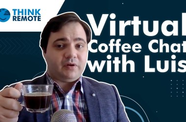 Virtual Coffee Chat with Luis