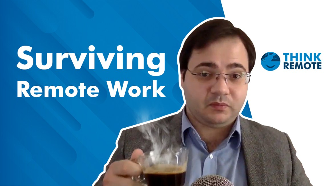 Luis talks about Surviving remote work during his coffee chat