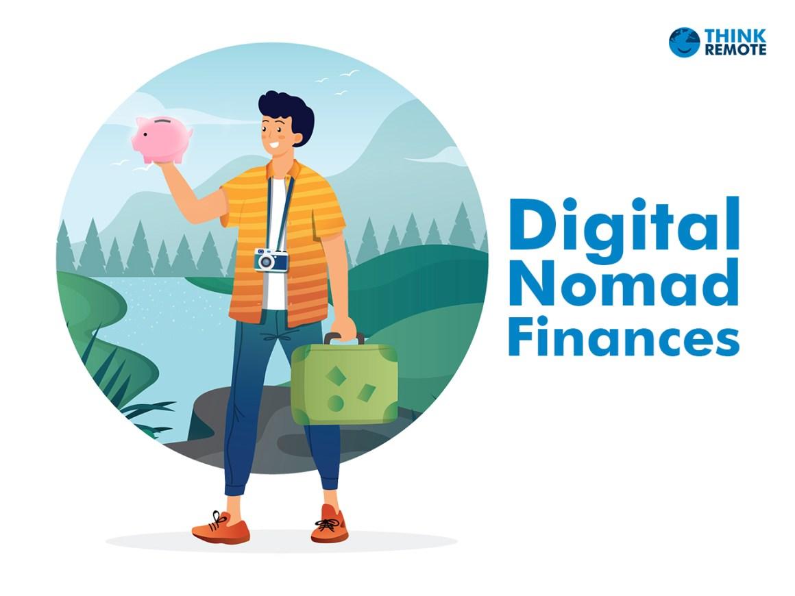 A digital nomad planning digital nomad budget savings while traveling