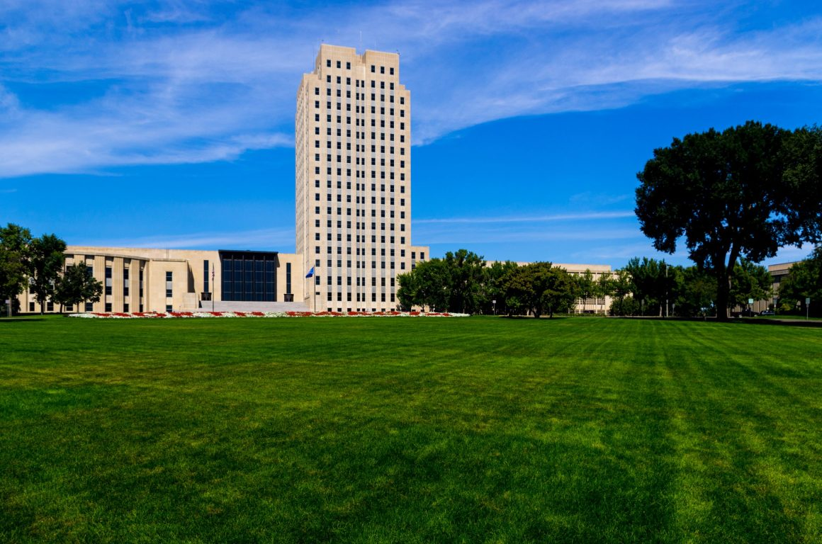 North Dakota building