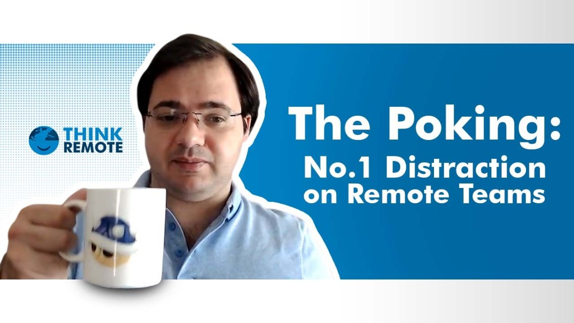 Distraction in remote teams discussed by Luis in his coffee chat