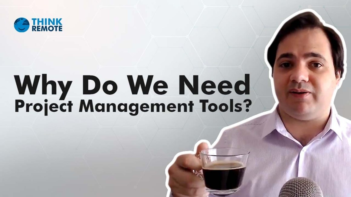 Luis discusses project management tools during his coffee chat