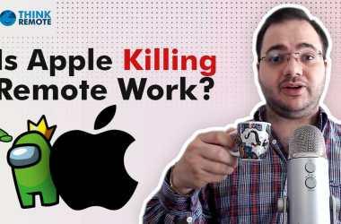 apple remote work