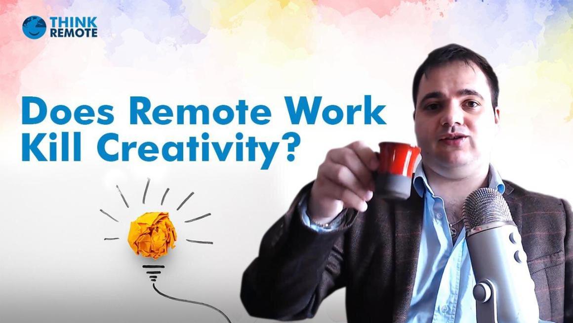 remote work kill creativity