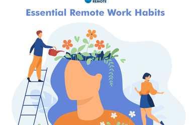 remote work habits