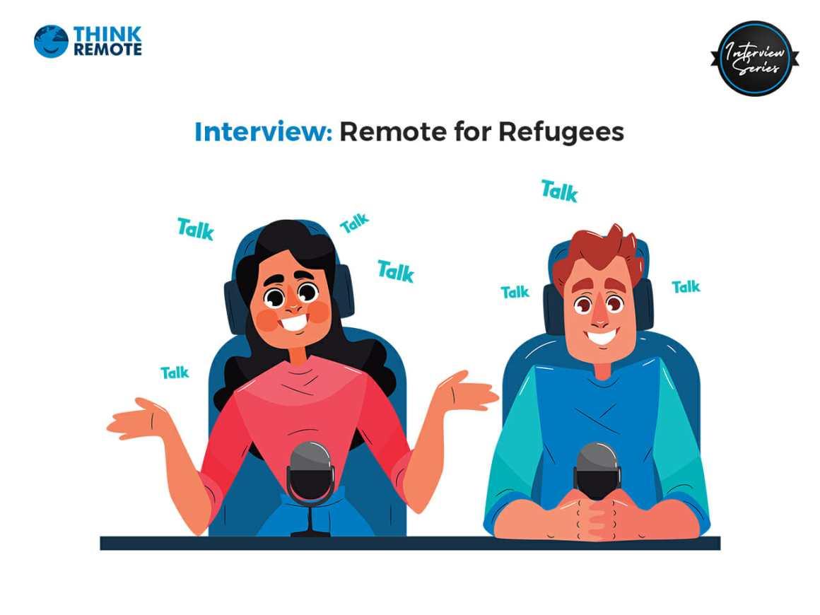 Remote for refugees program interview
