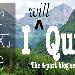 Our Next Life series: Part 1 – Quitting!