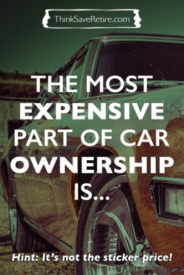 The most expensive part of new car ownership is not the sticker price!
