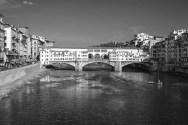 b&w - firenze, ponte vechio