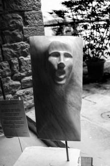 b&w - firenze, santa croce, marble art