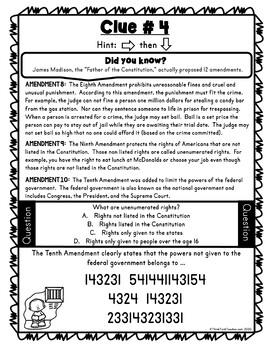 Bill of Rights Escape Room3
