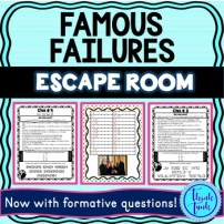 Famous Failures Escape Room Picture