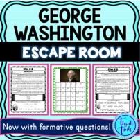 George Washington Escape Room Picture