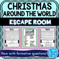 xmas around the world escape room picture