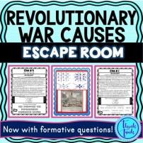 Revolutionary War Causes Cover