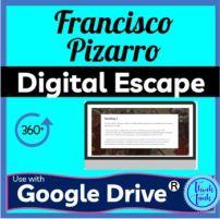 Franisco Pizarro Digital Escape Room Picture
