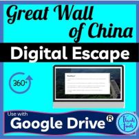 Great Wall of China DIGITAL ESCAPE ROOM for Google Drive® Dynasties picture