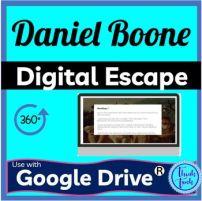 Daniel Boone Digital Escape Room Picture