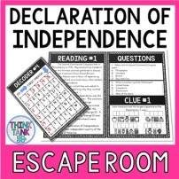 Declaration of Independence Escape Room Picture