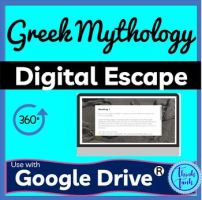 Greek Mythology DIGITAL ESCAPE ROOM picture