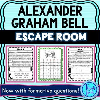 Alexander Graham Bell ESCAPE ROOM picture