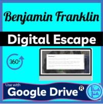 Benjamin Franklin Digital Escape room picture