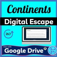 Continents DIGITAL ESCAPE ROOM