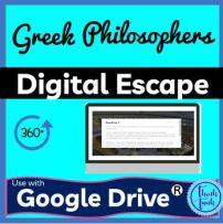 Greek Philosophers DIGITAL ESCAPE ROOM picture