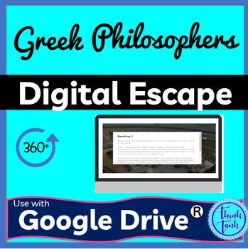 Greek Philosophers DIGITAL ESCAPE ROOM picture