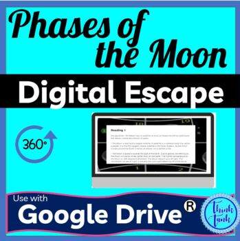 Phases of the Moon DIGITAL ESCAPE ROOM picture