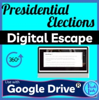Presidential elections digital escape room picture
