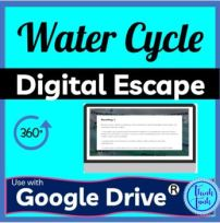 Water Cycle DIGITAL ESCAPE ROOM picture
