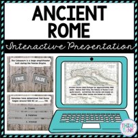 Ancient Rome Interactive Google Slides picture
