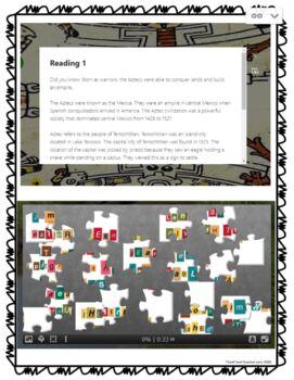 Aztec DIGITAL ESCAPE ROOM for Google Drive picture