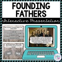 Founding Fathers Interactive Google Slides picture