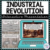 Industrial Revolution Interactive Google Slides picture
