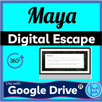 Maya DIGITAL ESCAPE ROOM for Google Drive picture