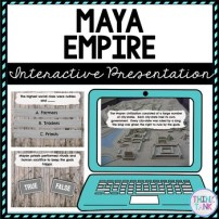 Maya Empire Interactive Google Slides™ Presentation | Distance Learning picture