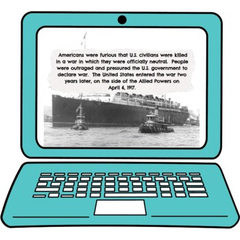 World War I Interactive Google Slides picture