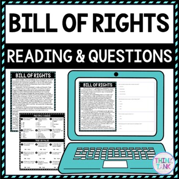 Bill of Rights Activity picture