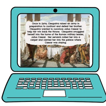 Cleopatra Interactive Google Slides™ Presentation | Distance Learning picture