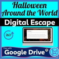 Halloween Around the World DIGITAL ESCAPE ROOM picture