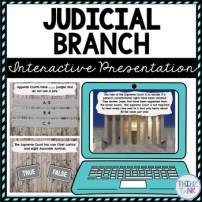 Judicial Branch Interactive Google Slides™ Presentation picture