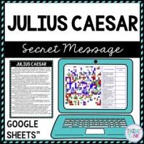 Julius Caesar Secret Message Picture