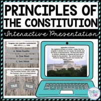 Principles of the Constitution Interactive Google Slides™ picture