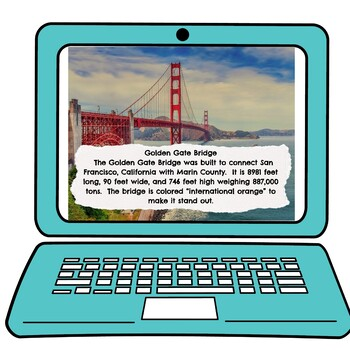 US Landmarks Interactive Google Slides™ Presentation picture